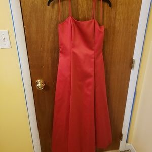 Jessica Mcclintock red prom dress